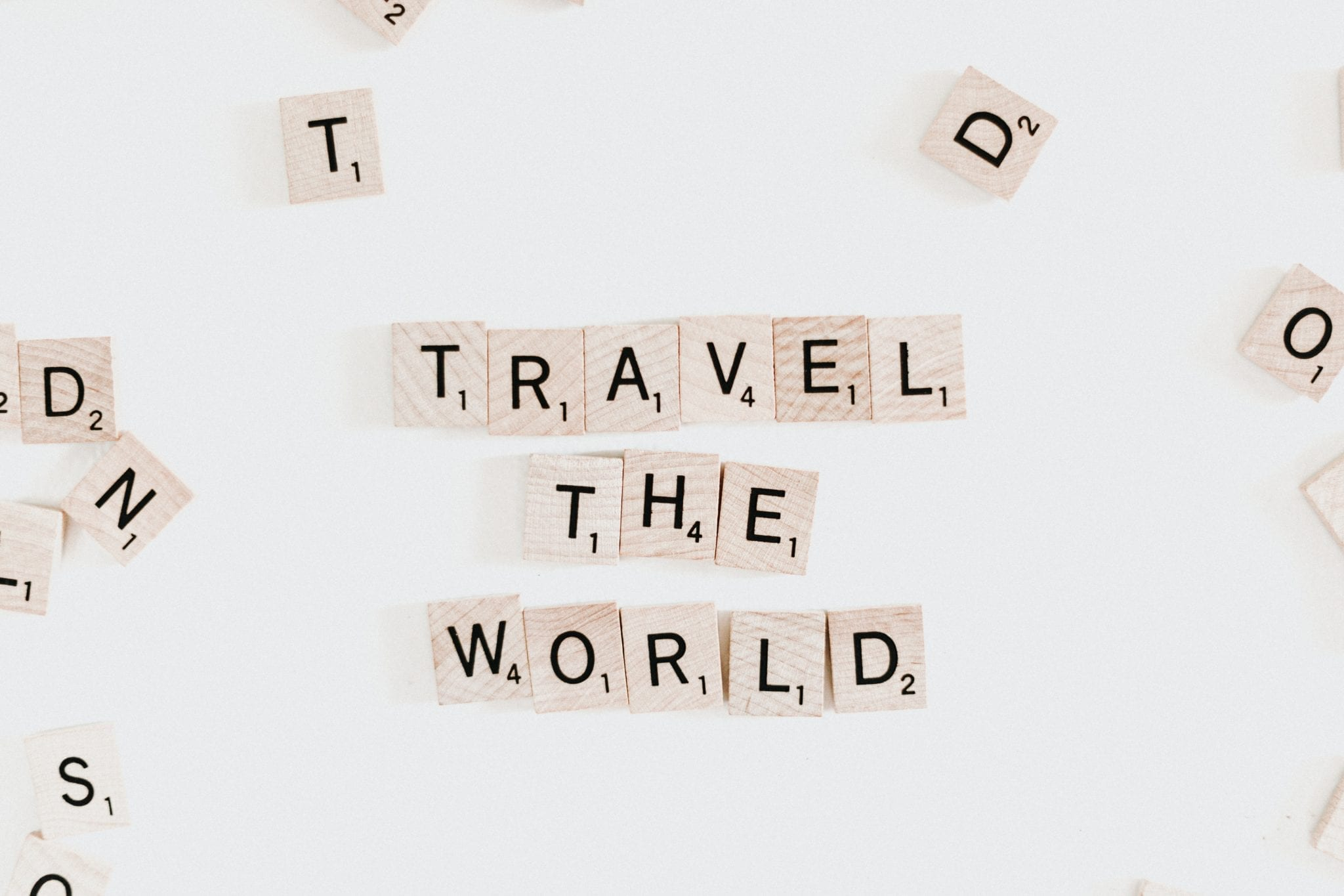 Travel the world in Scrabble tiles