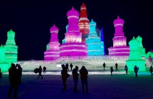 Harbin Ice Sculptures China