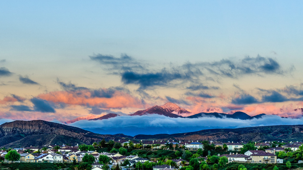 Santa Clarita at Sunset